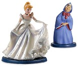 WDCC Disney Classics-Cinderella & Fairy Godmother A Magical Transformation Artist Signed