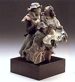 Lladro-Goyescas Back From The Fair 1989-93