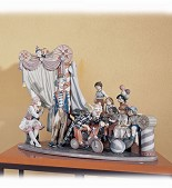 Lladro-Circus Time Le2500 1992