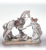 Lladro-Conquered By Love Le2500 1994-2003