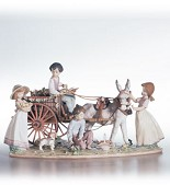 Lladro-Enchanted Outing Le3000 1995-C
