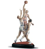 Lladro-To The Rim Le1500 1995-2001