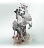 Lladro-Free As A Wind Le1500 2000-C