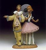 Lladro-Costumed Couple 1991-93
