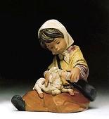 Lladro-New Lamb 1992-99 ***