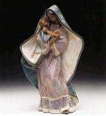 Lladro-Adoring Mother 1993-99