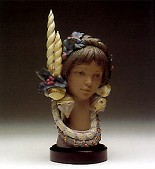 Lladro-Holiday Glow Le1500 1993-97
