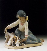 Lladro-Dogs Best Friend 1994-2000