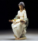 Lladro-Peaceful Rest 1995-99