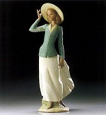 Lladro-Breezy Afternoon 1995-99