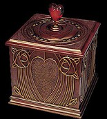 Ebony Visions-Heart Treasusres Box