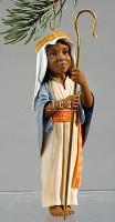 Ebony Visions-The Little Shepherd Annual Christmas  Ornament