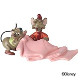 WDCC Disney Classics-Cinderella Gus and Jaq Tiny Tailors