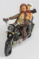 Guillermo Forchino-Exciting Motor Ride 1/2 Scale