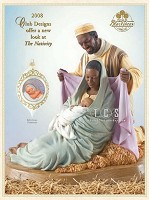 Ebony Visions-The Holy Family 2008 Signature Edition Blackshear Membership