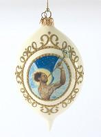 Ebony Visions-The Angel Gabriel 2009 Ornament