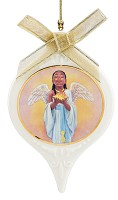 Ebony Visions-The Hope Angel Ornament