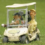 Guillermo Forchino-The Next Hole 1/2 Scale Golf Cart