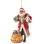 Ebony Visions-Father Christmas Ornament