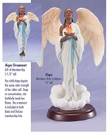 Ebony Visions-Hope - Deluxe  Blackshear Circle 2006 Membership Figurine And Kit