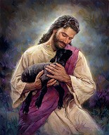 Nathan Greene-The Lamb Of God Studio Canvas Gicl�e