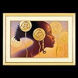 Ebony Visions-Ebony Visions Print Lithograph Unframed