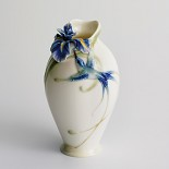 Franz Porcelain-Long tail hummingbird small vase