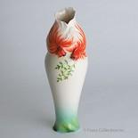 Franz Porcelain-Goldfish tall vase