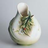 Franz Porcelain-Ladybug mid size vase
