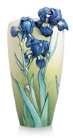 Franz Porcelain-Van Gogh Iris flower large vase