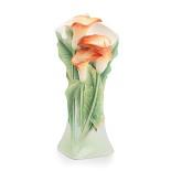 Franz Porcelain-Youthful Vigor calla lily vase