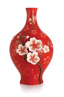 Franz Porcelain-Fragrant plum blossom small vase