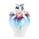 Franz Porcelain-Global Fame Cattleya orchid vase