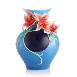 Franz Porcelain-Paradise on Earth azalea vase