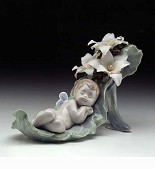 Lladro-Dreaming On Drew Drops