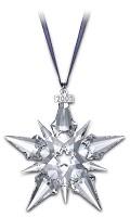 Swarovski-2001 Swarovski Snowflake Ornament