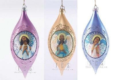 Ebony Visions_Faith Hope Love Ornament Bundle