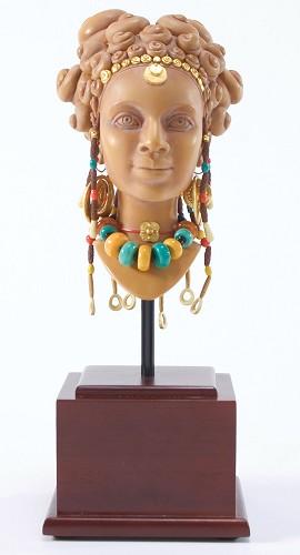 Ebony Visions_Terracotta Princess Faces Of Beauty