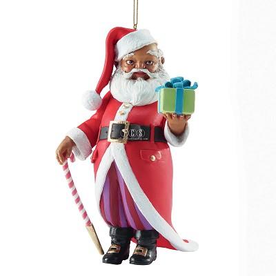 Ebony Visions_Mr Claus 2013 Ornament