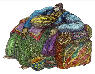Charles Bibbs_Big Mama's Chair #2 Giclee