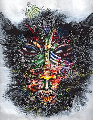 Charles Bibbs_Mask Number 2 Collaboration with Sabrina Gibson