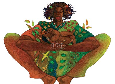 Charles Bibbs_Motherhood- Giclee
