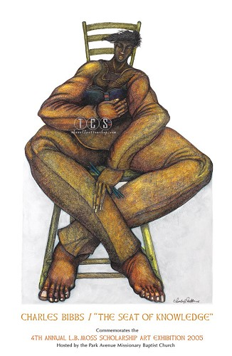 Charles Bibbs_The Seat Of Knowledge Limited Edition