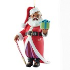 Ebony Visions - Mr Claus 2013 Ornament