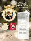 Ebony Visions - President Obama Ornament