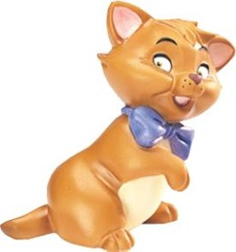 The Aristocats Toulouse Little Tiger by WDCC Disney Classics Image is watermarked for copyright protection and is not present on the actual art work.