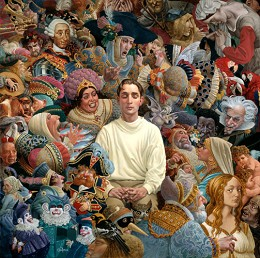 The Listener by James Christensen Image is watermarked for copyright protection and is not present on the actual art work.