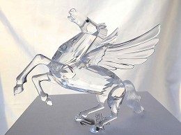 Pegasus by Swarovski Image is watermarked for copyright protection and is not present on the actual art work.