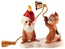 WDCC Disney Classics Plutos Christmas Tree Chip N' Dale Ornament (1997)