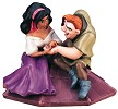 WDCC Disney Classics The Hunchback Of Notre Dame Esmerelda And Quasimodo Not A Single Monster Line